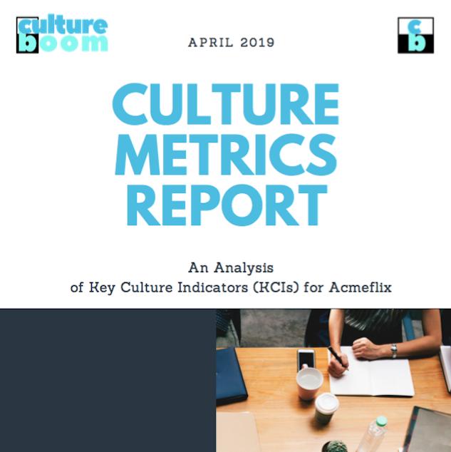 culture metrics report