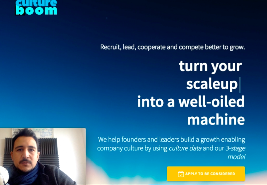 cultureboom walkthrough by the founder